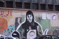 Grafittis dos povos  Fotografia de Stock Royalty Free