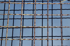 Os gratings do metal Foto de Stock