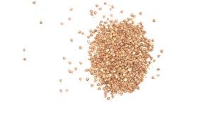 Os groats de trigo mourisco. Imagem de Stock