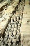 Os guerreiros da argila Imagem de Stock