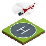 Os helicópteros voam helicópteros do rotor do transporte aéreo e do céu ilustração royalty free