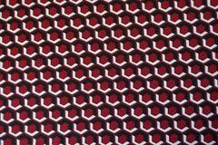Os hexágonos imprimiram a tela em cores brilhantes Imagem de Stock
