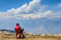Os Himalayas Foto de Stock Royalty Free