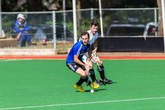 Os homens Argentina do hóquei jogam África do Sul Imagens de Stock