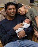 Os homens da família Imagem de Stock Royalty Free