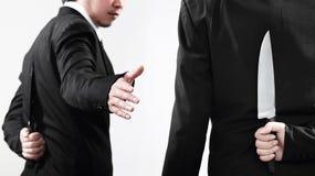 Os homens de negócios devem ser preparados em todas as vezes Fotos de Stock