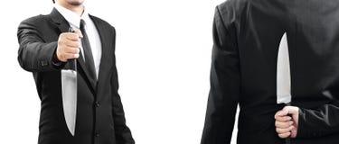 Os homens de negócios devem ser preparados em todas as vezes Fotografia de Stock Royalty Free