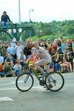 Os homens nus na bicicleta de Freemont desfilam imagem de stock