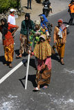 Os homens vestiram mulheres Foto de Stock