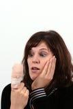 Os Hurts do dedo Imagem de Stock