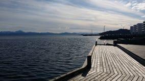 OS i Hordaland Bjørnefjord fotografering för bildbyråer