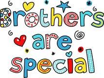 Os irmãos são especiais ilustração royalty free