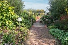 Os jardins de Appeltern nos Países Baixos são uma oportunidade de encontrar f Foto de Stock