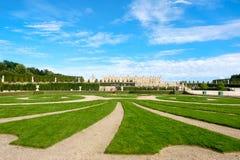 Os jardins do palácio real de Versalhes perto de Paris em França Imagem de Stock Royalty Free