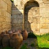 Os jarros de água antigos Foto de Stock Royalty Free