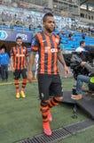 Os jogadores de FC Shakhtar estão indo ao campo Fotografia de Stock