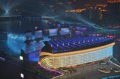 Os Jogos Asiáticos Guangzhou 2010 China imagem de stock