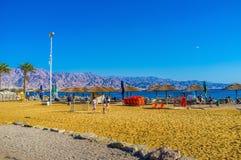 Os jogos da praia Fotografia de Stock