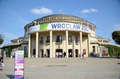 Os jogos de mundo 2017 em Wroclaw, Polônia Imagens de Stock