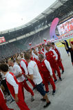 Os jogos de mundo 2017 em Wroclaw, Polônia Fotografia de Stock