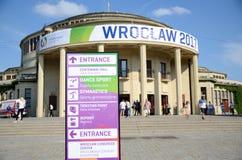 Os jogos de mundo 2017 em Wroclaw, Polônia Fotografia de Stock Royalty Free