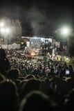 Os judeus ortodoxos rezam no meron do mt, Israel Fotos de Stock