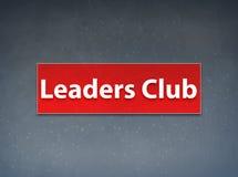 Os líderes batem o fundo vermelho do sumário da bandeira ilustração royalty free
