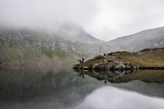 7os lagos Rila Imagem de Stock Royalty Free