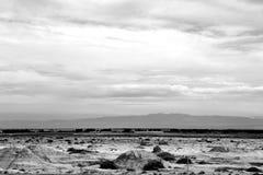Os landforms originais de Gansu, China Imagens de Stock