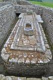 Os latrines em Housesteads Imagem de Stock Royalty Free