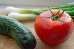 Os legumes frescos fecham-se acima Fotografia de Stock Royalty Free