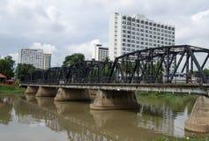 Os leks constroem uma ponte sobre, Chiang Mai Foto de Stock Royalty Free