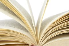 Os livros abrem 1 Imagens de Stock Royalty Free