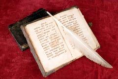 Os livros antigos Fotografia de Stock Royalty Free