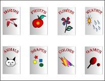 Os livros de crianças Ilustração Stock
