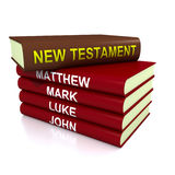 Os livros do novo testamento ilustração royalty free
