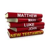Os livros do novo testamento ilustração stock