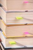 os livros são com endereços da Internet Imagem de Stock Royalty Free