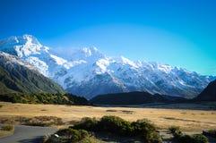 Os lugares do paraíso em Nova Zelândia/montagem cozinham National Park Fotografia de Stock Royalty Free