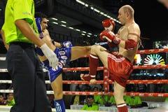 Campeonatos do mundo de Muaythai Fotos de Stock