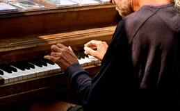 Os músicos da rua do mercado de lugar de Pike imagens de stock