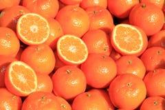 Os mandarino Imagem de Stock Royalty Free