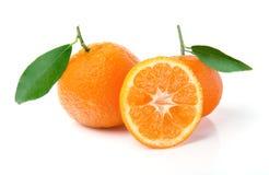 Os mandarino frescos Foto de Stock Royalty Free
