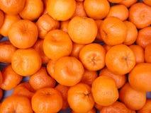 Os mandarino - fundo da fruta Imagens de Stock