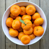 Os mandarino orgânicos imperfeitos do satsuma Foto de Stock Royalty Free