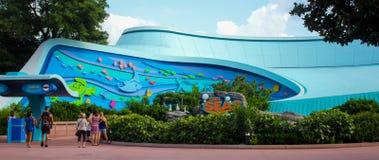 Os mares em Epcot, Orlando, Florida fotos de stock royalty free