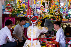 Os meios de espírito de Vietname Fotografia de Stock