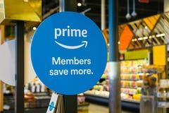 Os membros principais das Amazonas salvar mais sinal foto de stock royalty free