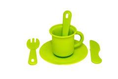 Os mercadorias verdes das crianças Imagens de Stock Royalty Free