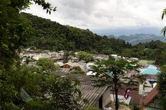 Os meteres 1658 de Doi Pui acima consideram são ao nível uma parte de Doi Suthep-Pui National Park Imagem de Stock